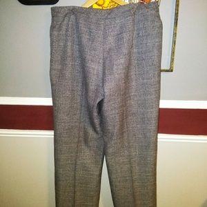 Le Suit Womens Gray Office Dress Pants Tro
